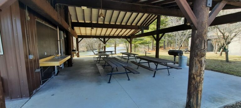 PS Covered Picnic Shelter